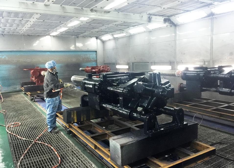 广西机械喷漆设备