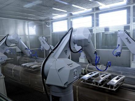 广西机器人涂装设备